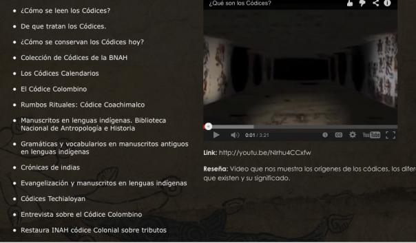 CODICES DEL MEXICO ANTIGUO