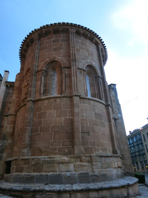 Perspectiva de San Juan de Rabanera