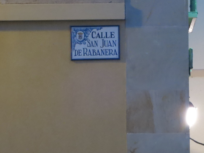Ubicación de la Iglesia de San Juan de Rabanera