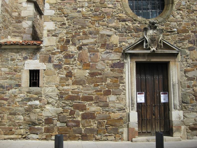 Perspectiva de la celda y capilla
