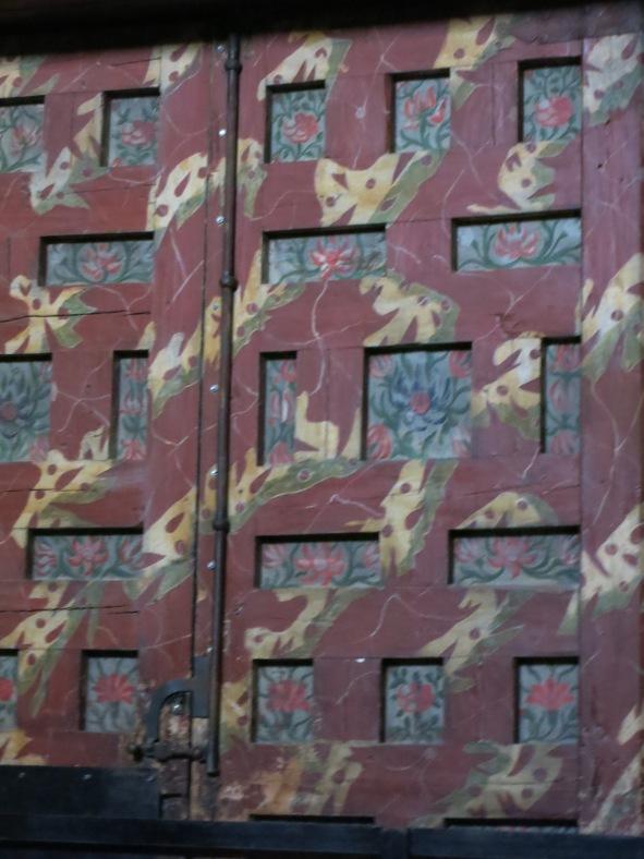 Puerta ermita San Saturio