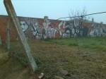 Mural de graffitis