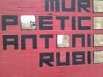 muro poetico