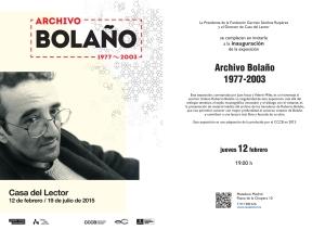 Inauguración BOLAÑO.indd