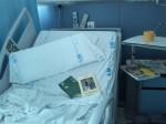 Libros no robados en un asalto hospitalario