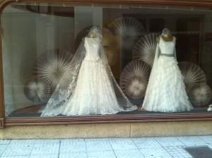 Escaparate de novias