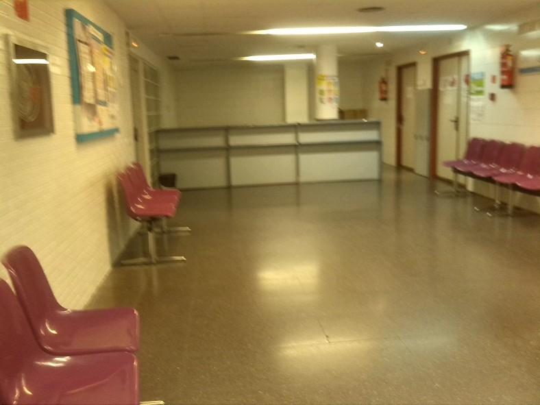 Ambulatorio vacío