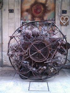 Escultura en la calle