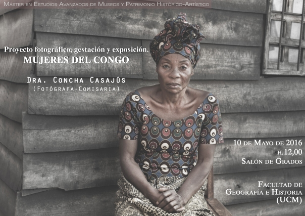 Cartel conferencia Congo