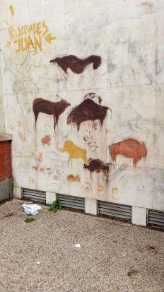 Grafiti en Geografía e Historia