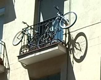Bicicletas o macetas?