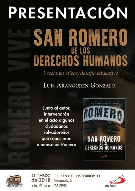 CARTEL SAN ROMERO MADRID
