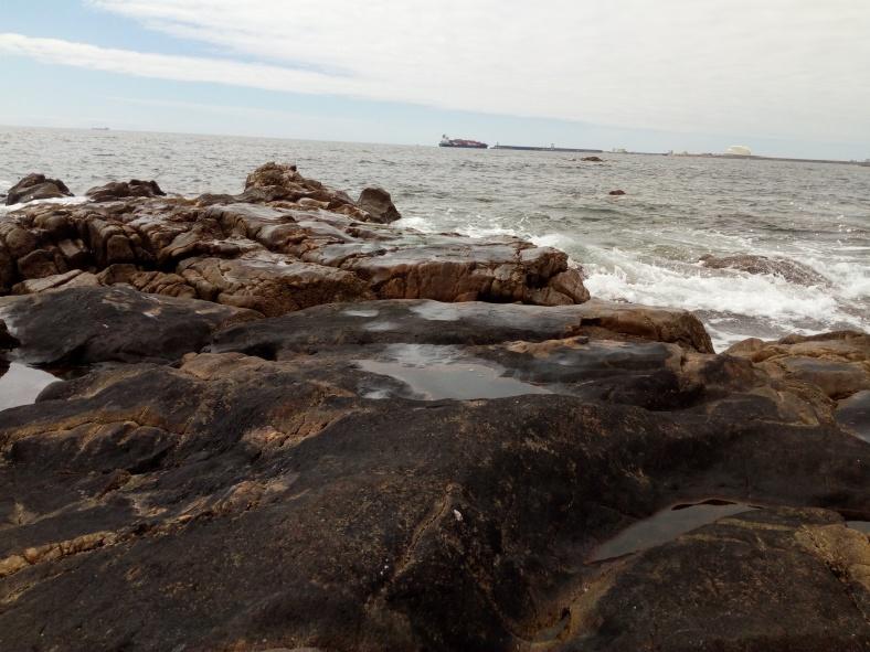 Fuerte do Queijo y mar