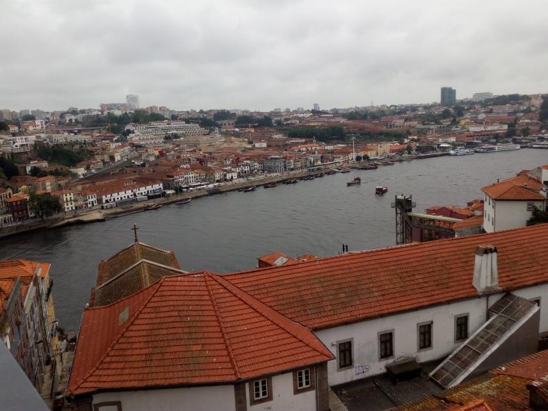 Vistas desde el puente Luis I