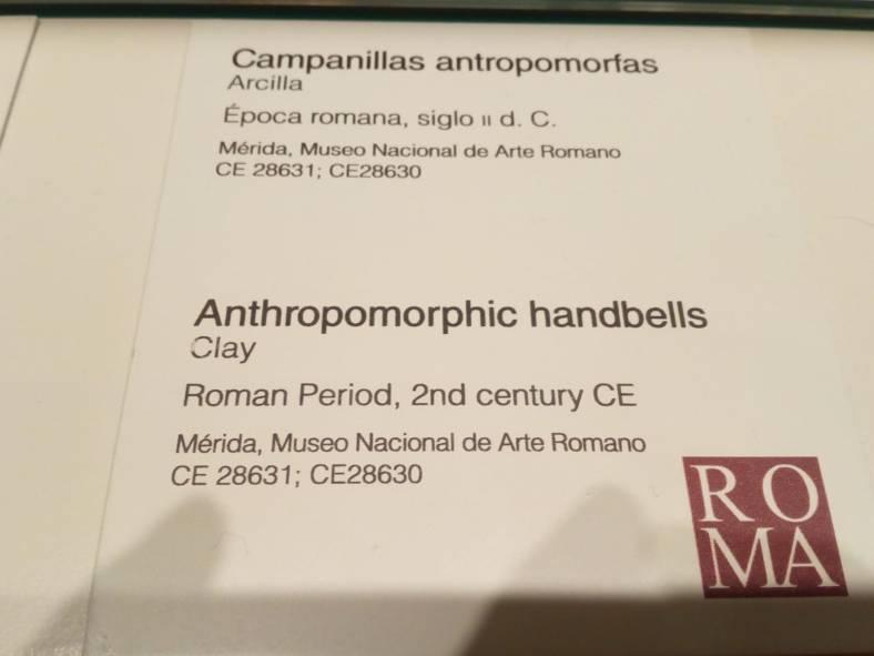 Campanillas antropomorfas