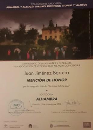 Zorro en La Alhambra