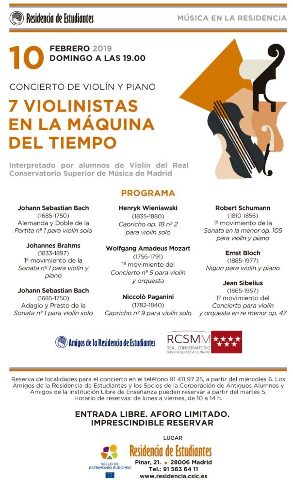 Concierto Violinistas